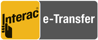 Interac E-Transfer logo Payment Method Accepted at Fairfield Electric Victoria BC